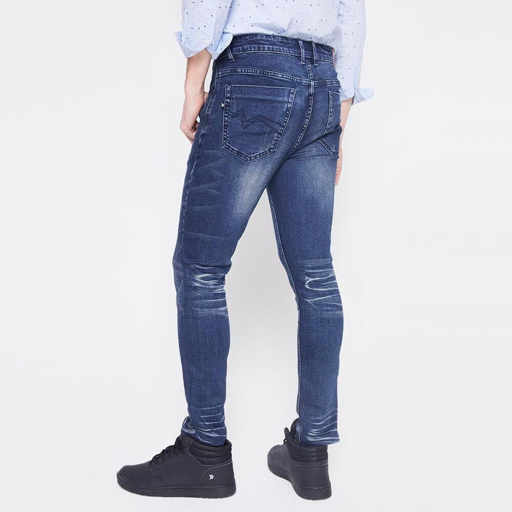 Jeans Slim  Hombre Rolly Go image number 2.0