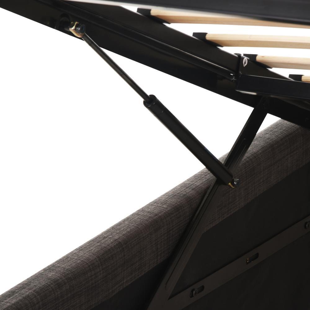 Cama Baúl Cic Ortopedic Advance / 1.5 Plazas / Base Normal + Velador image number 1.0
