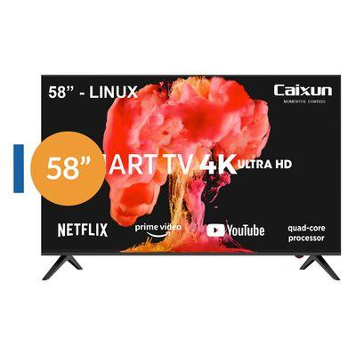 Led Caixun Cs58f2usm / 58'' / Ultra Hd / 4k / Smart Tv