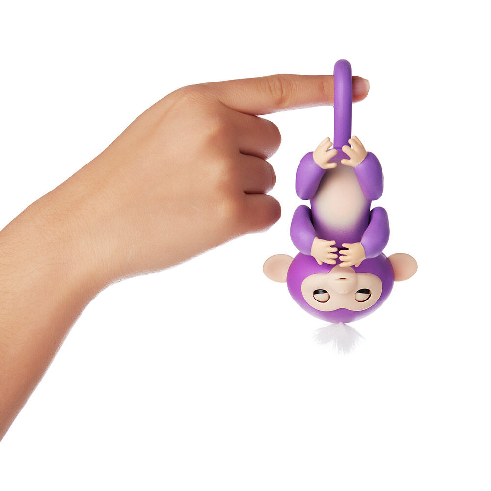 Juguete Fingerlings Purple Mia image number 2.0