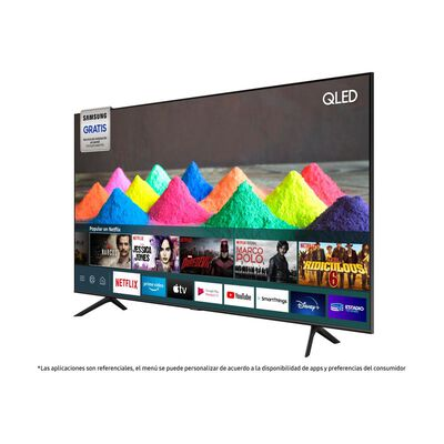 "Qled Samsung Q60T / 50 "" / Ultra Hd / 4k / Smart Tv"
