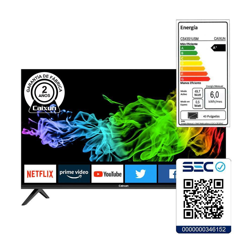 "Led Caixun Cs43s1usm / 43"" / Ultra Hd / 4k / Smart Tv image number 6.0"