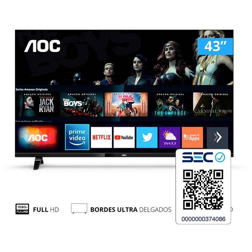 "Led AOC 43S5305 / 43 "" / Full HD / Smart Tv image number 6.0"