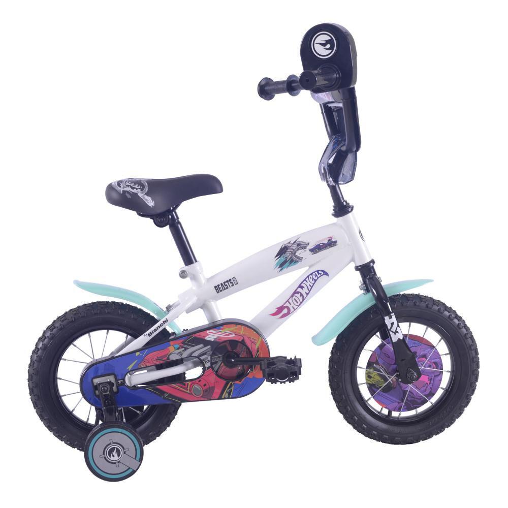 Bicicleta Infantil Bianchi Hot Wheels 12 / Aro 12 image number 0.0