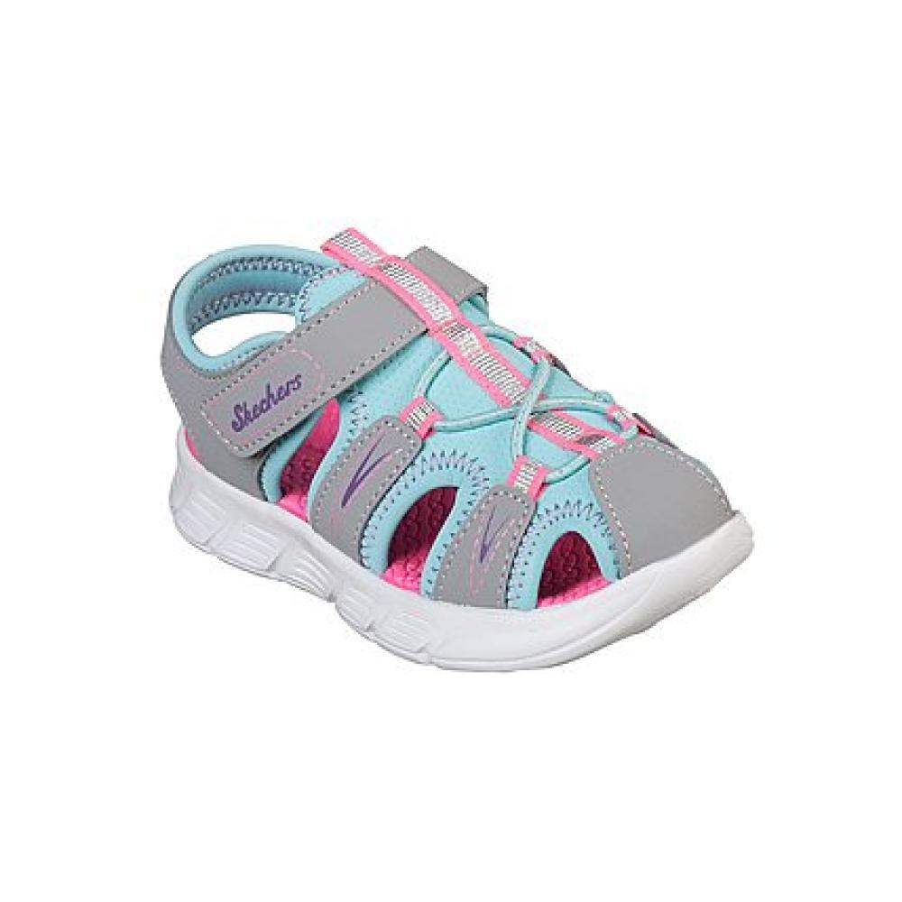 Sandalia Niña Skechers C-flex Sandal-aqua Steps image number 0.0