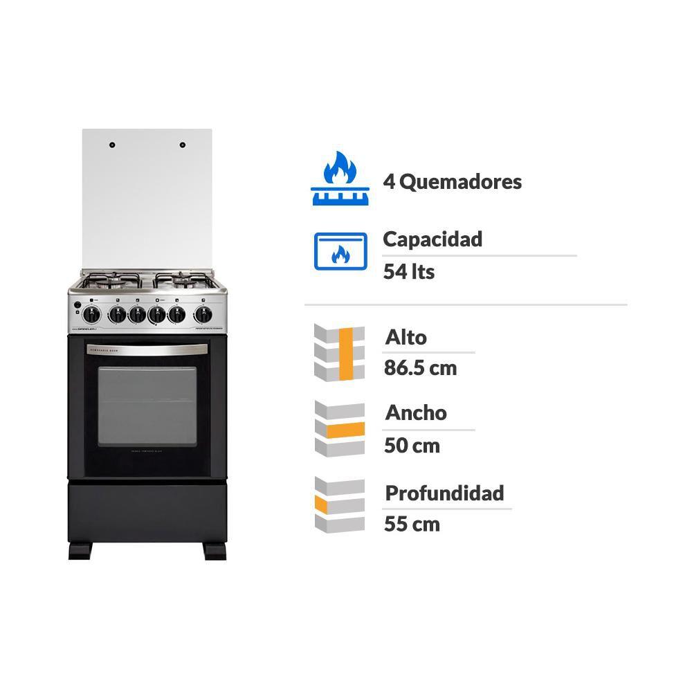 Cocina Sindelen CH-5490IN / 4 Quemadores image number 1.0