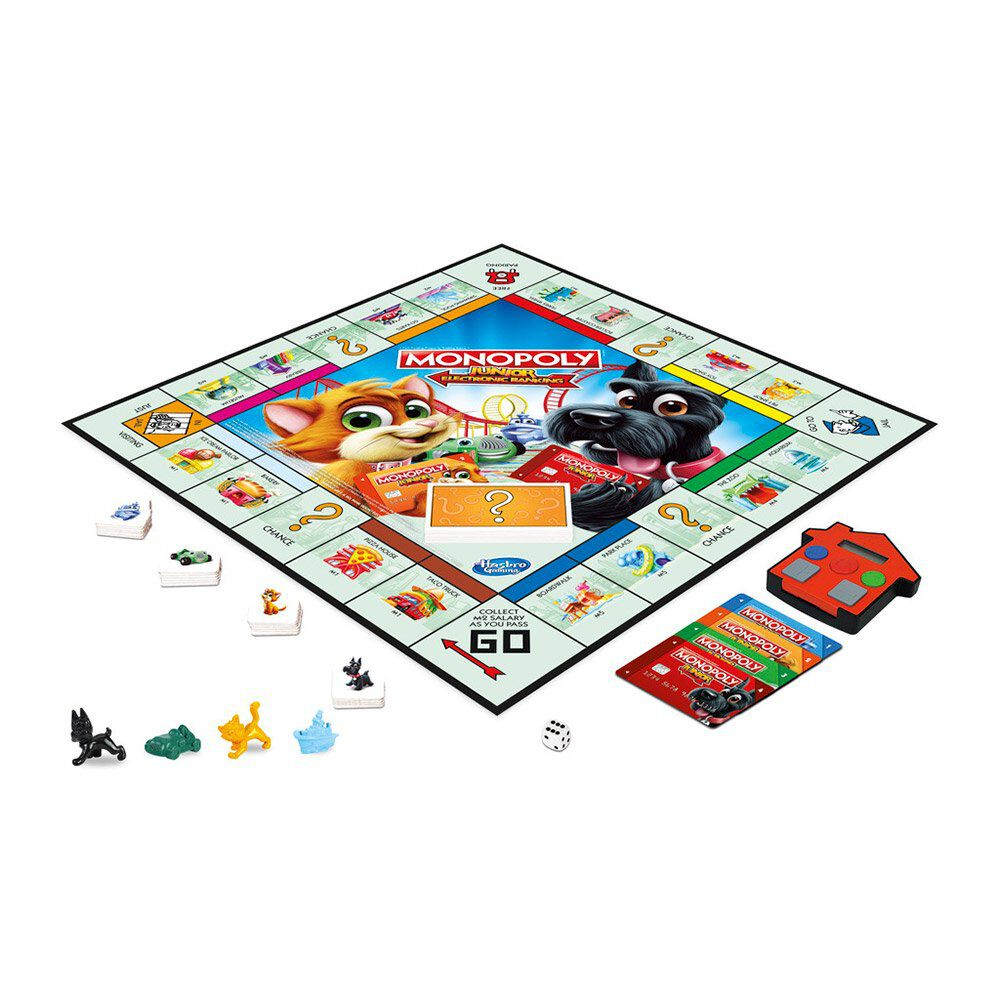 Juego De Mesa Monopoly Electronic Banking image number 1.0