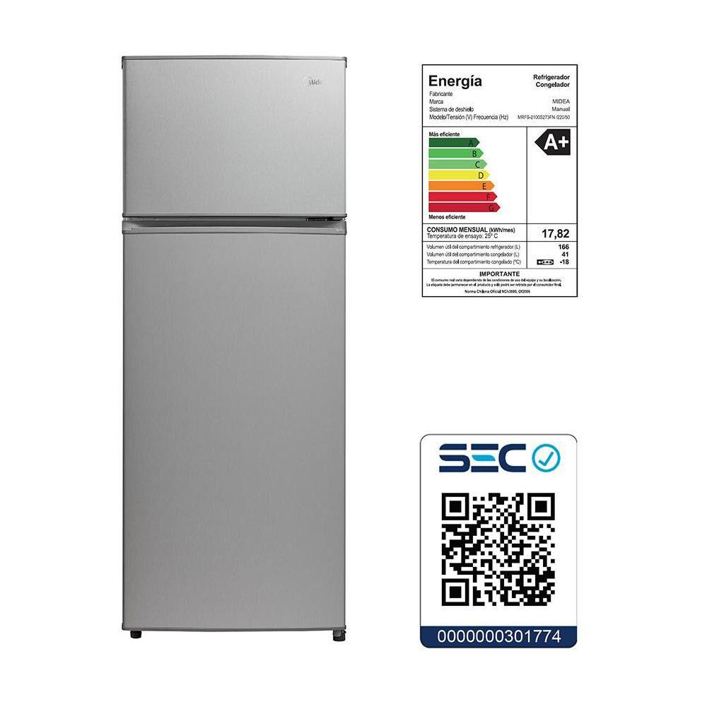 Refrigerador Midea Mrfs-2100S273Fn / Frío Directo / 207 Litros image number 5.0