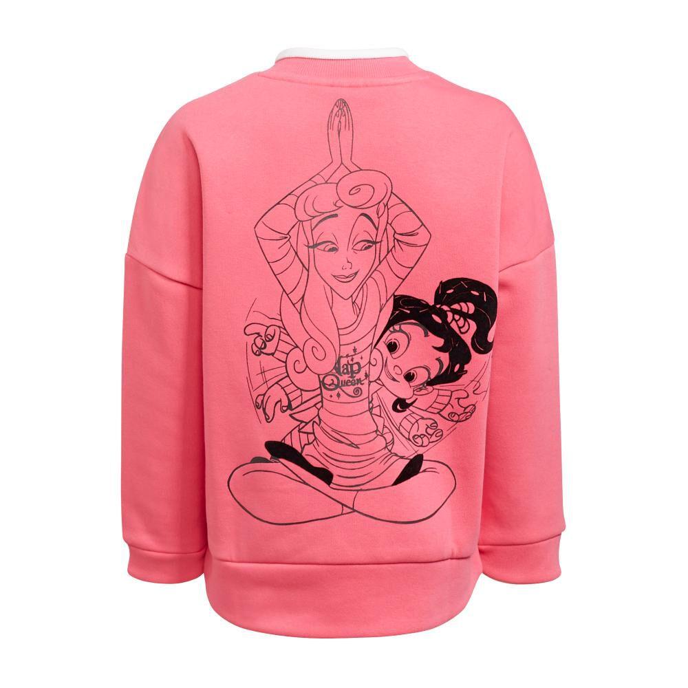 Polerón Deportivo Mujer Adidas Disney Comfy Princesses image number 1.0