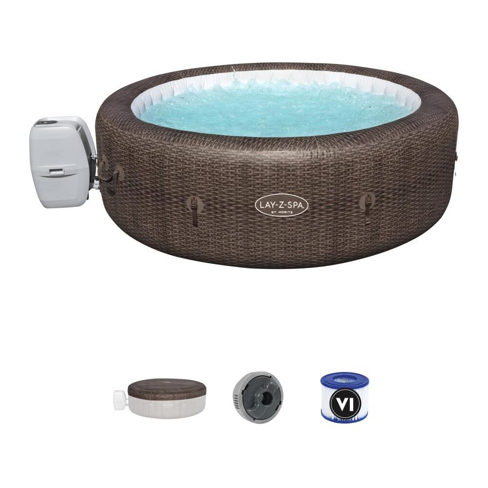 Spa Inflable St. Moritz Airjet Bestway / 5-7 Personas image number 0.0