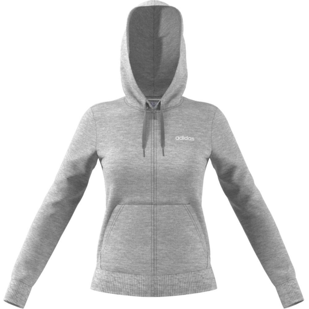 Poleron Deportivo Mujer Adidas Essentials Solid image number 3.0