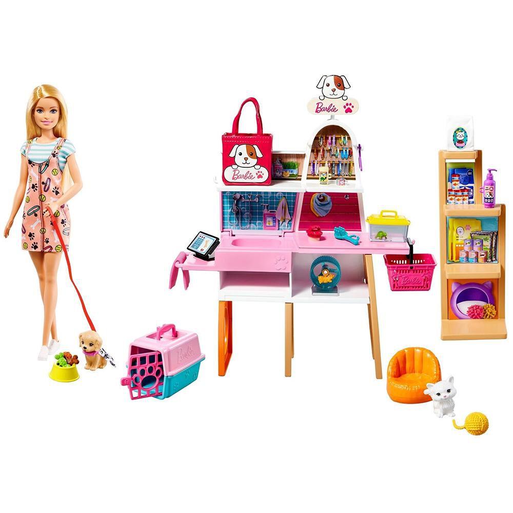 Muñeca Barbie Tienda De Mascotas image number 0.0