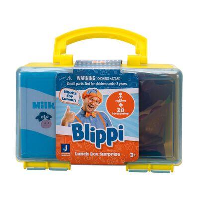 Juguete Educativo Blippi Mini Lonchera Construcción