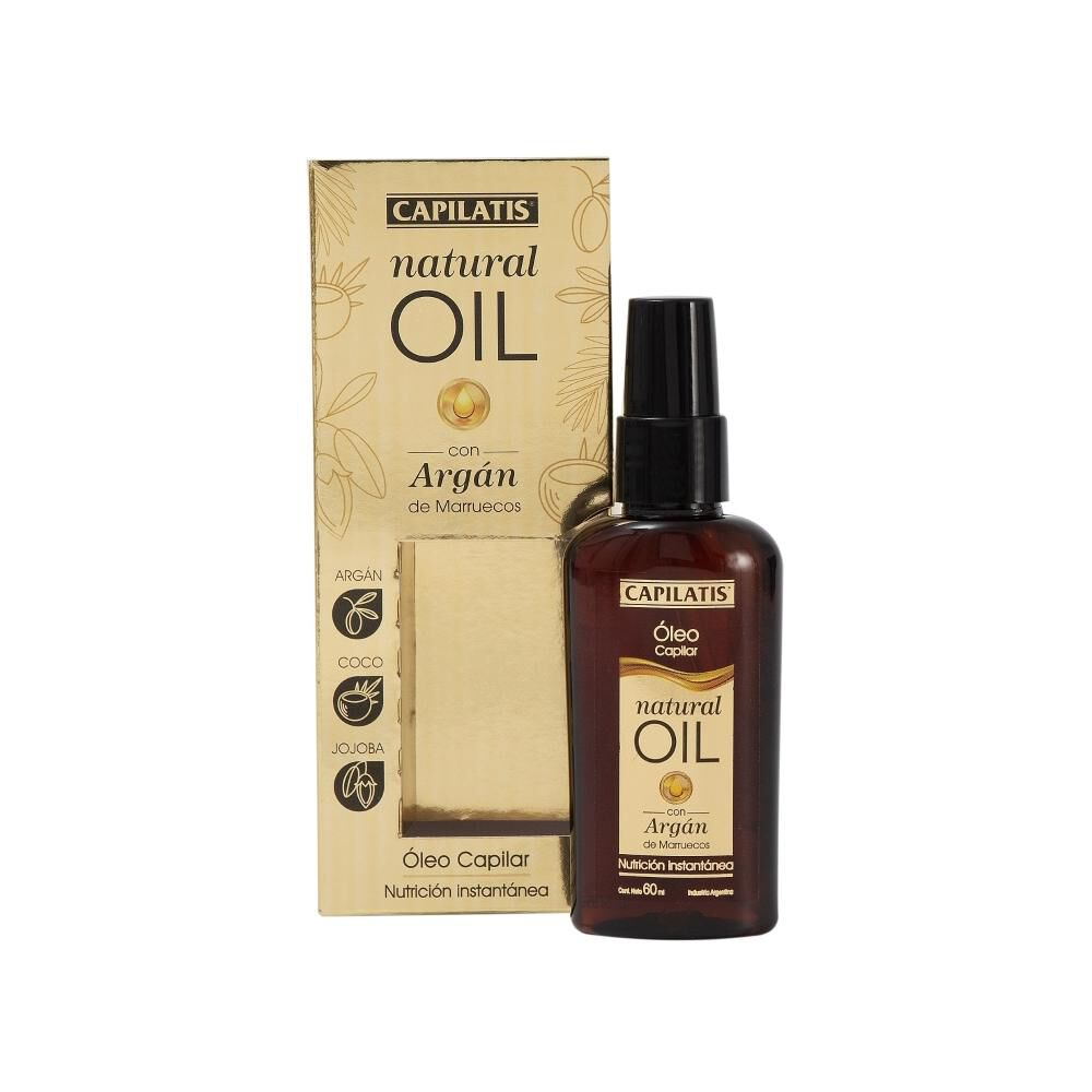 Óleo Natural Oil 60 Ml Capilatis image number 0.0