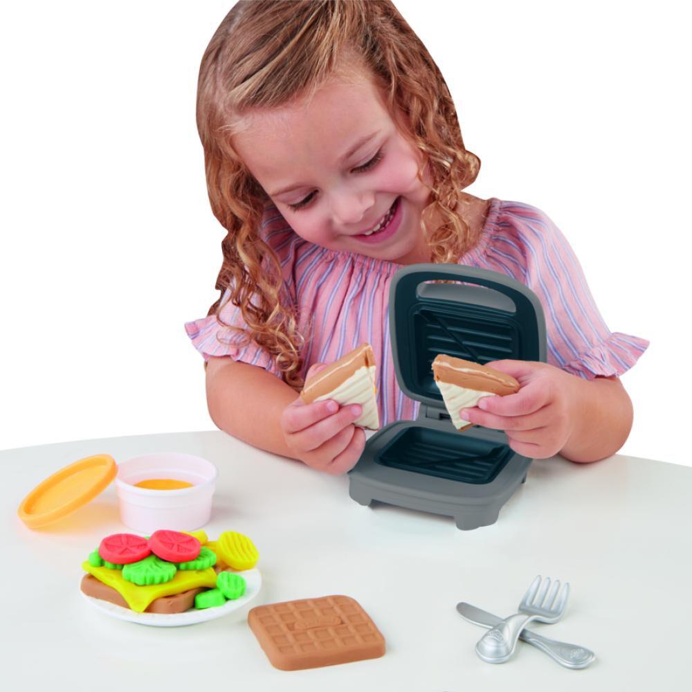 Masas Educativas Play Doh Kitchen Creations Sandwichera Divertida image number 2.0