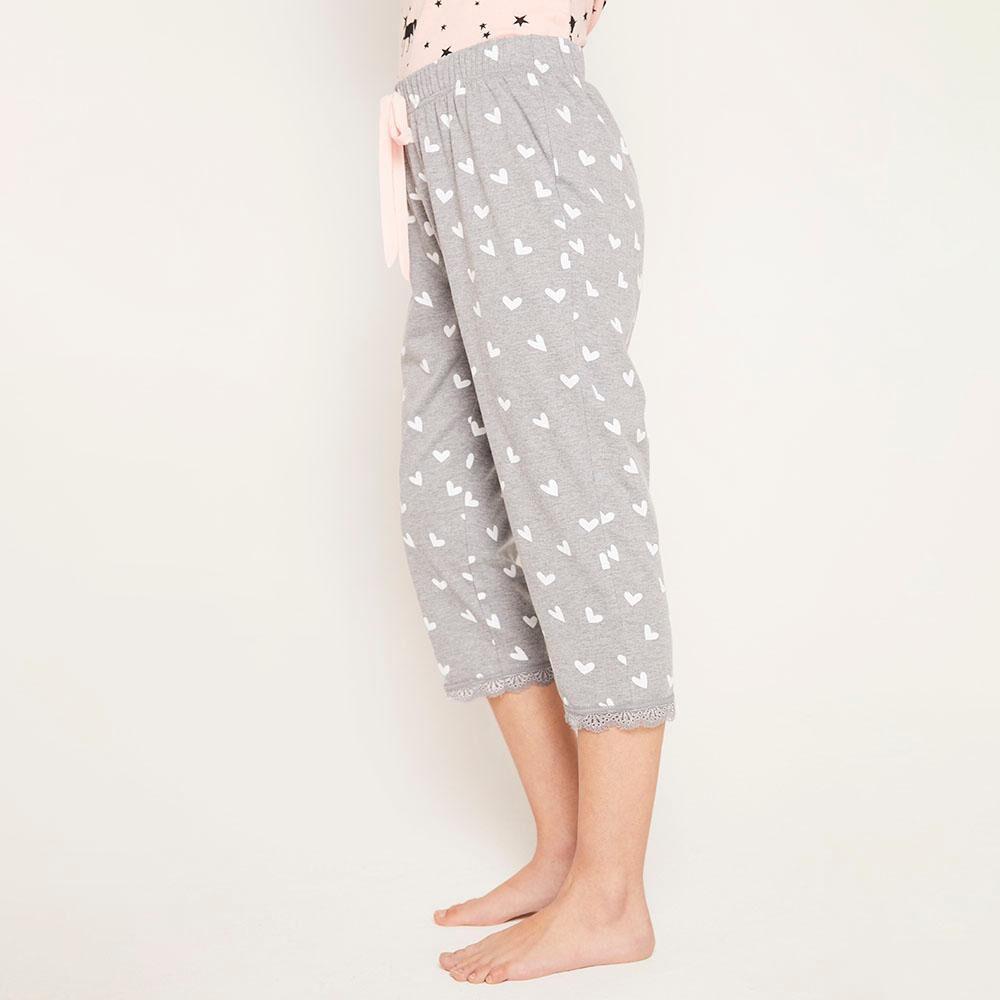Pantalón Pijama Capri Mujer Freedom image number 5.0