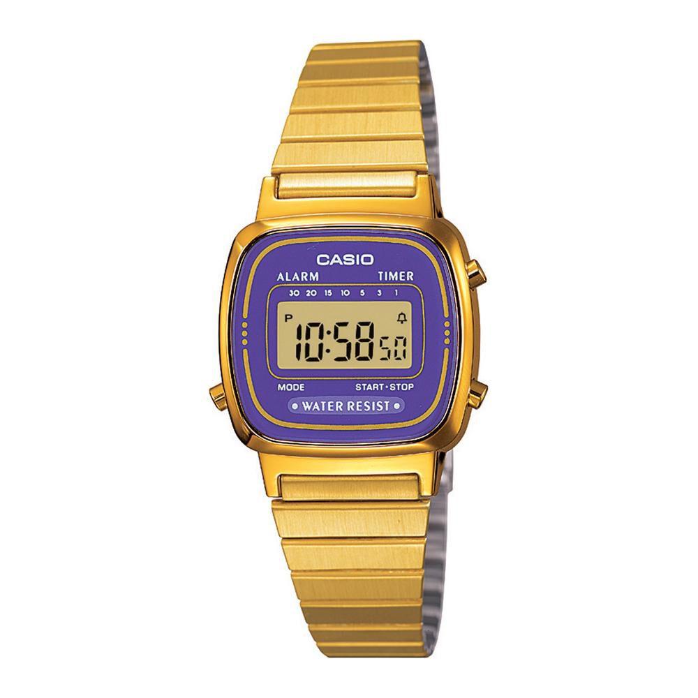 Reloj Mujer Casio La670wga-6df image number 0.0