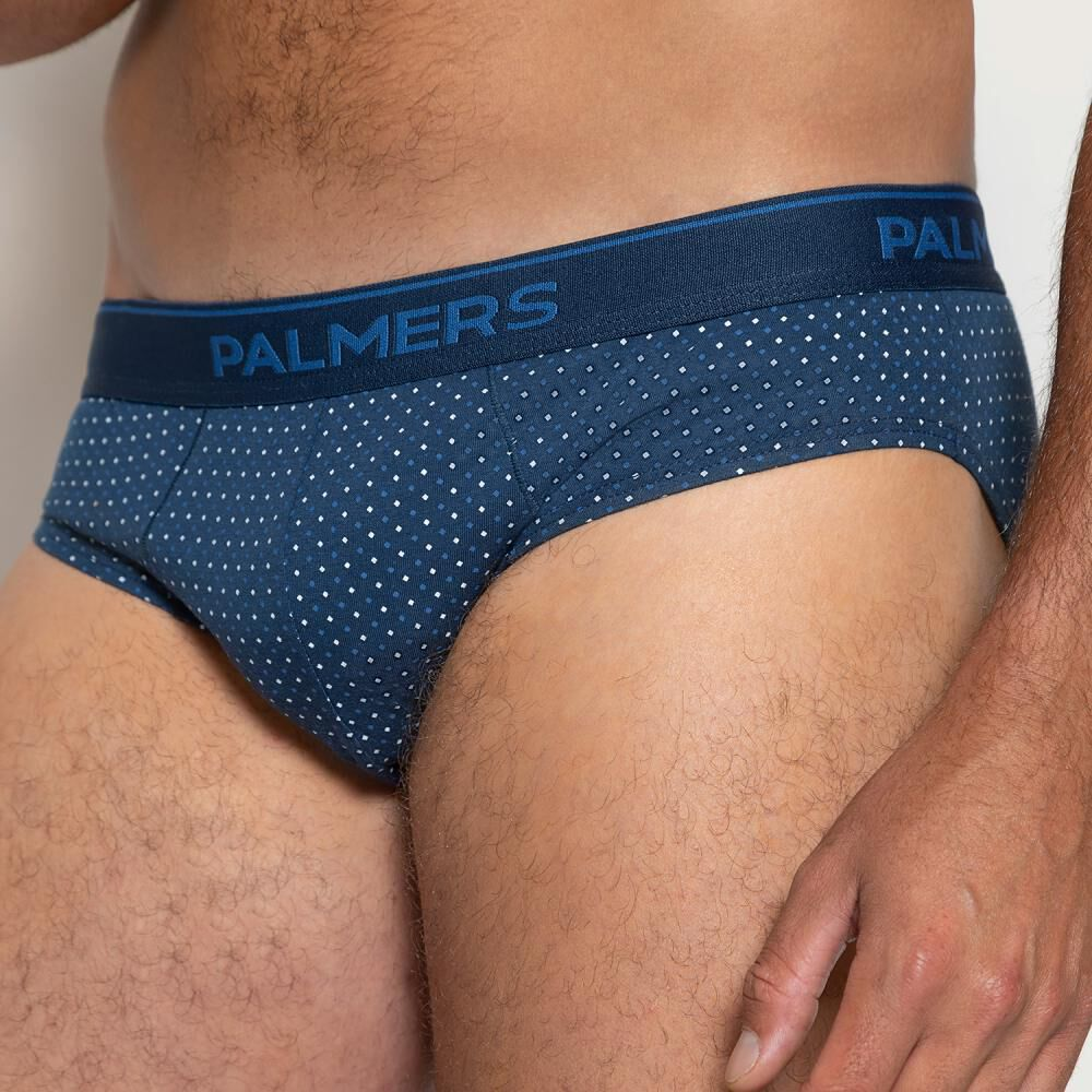 Pack Slips Hombre Palmers / 5 Unidades image number 3.0