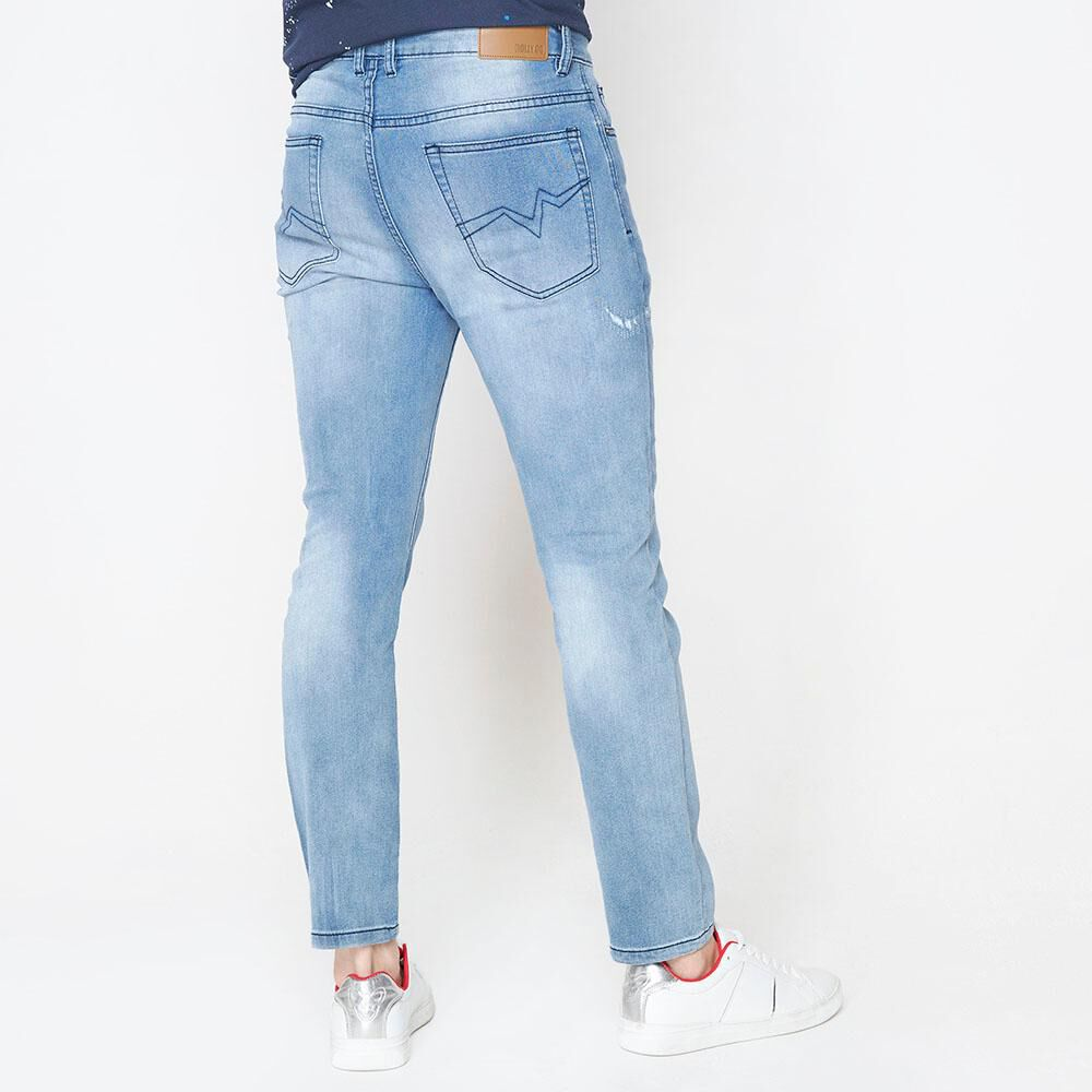 Jeans Jogger Hombre Rolly Go image number 2.0