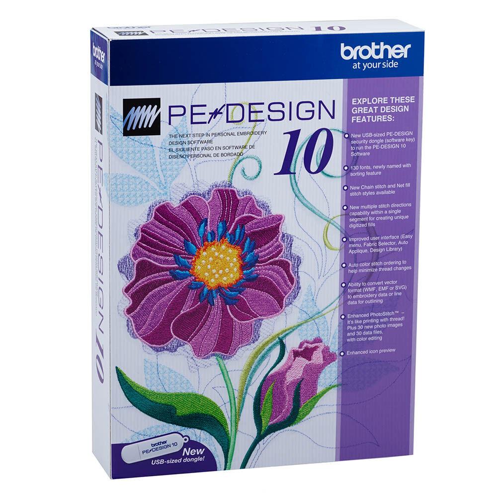 Software De Diseño Brother  Pedesign 10 image number 0.0