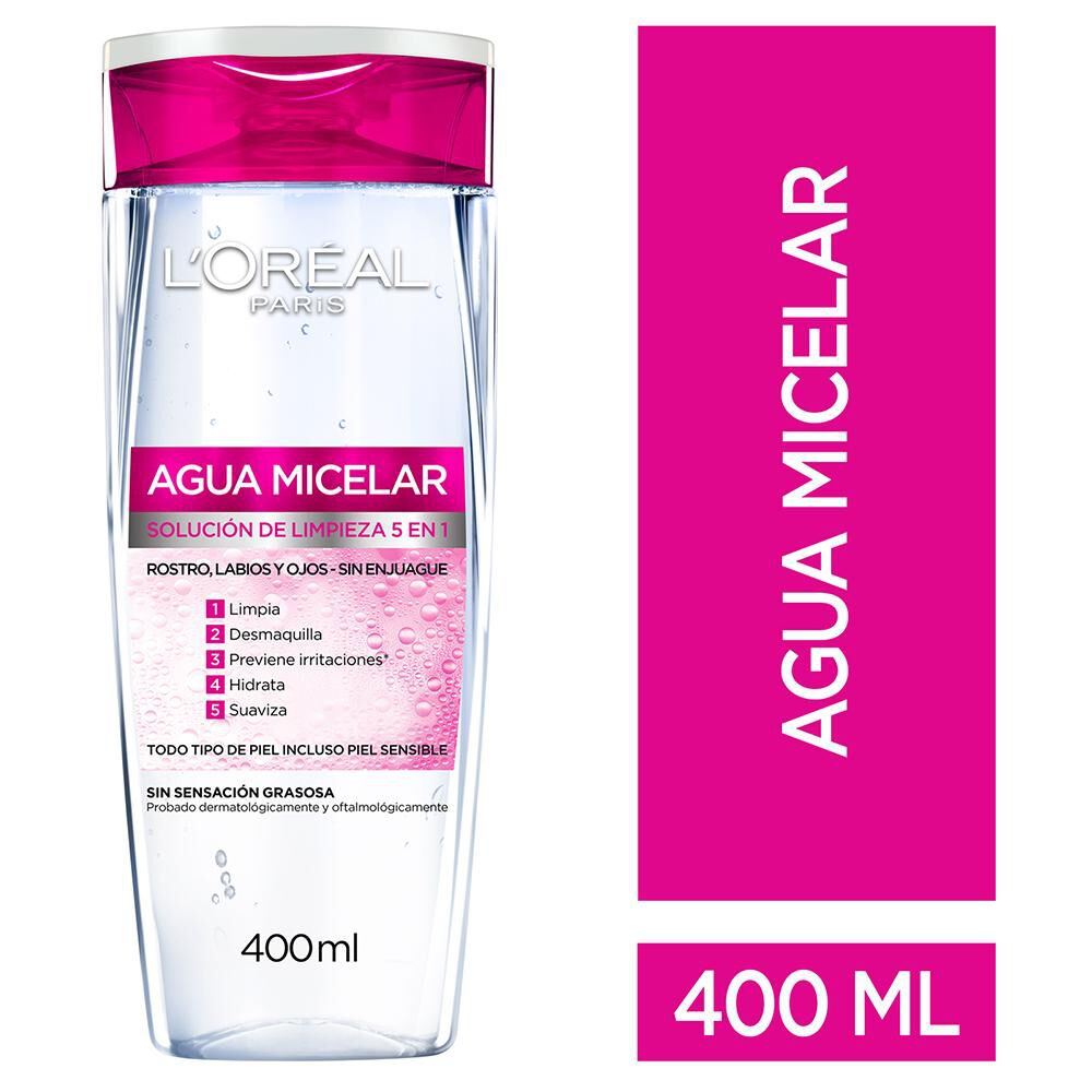 Agua Micelar Dermo Expertise / 400 Ml image number 0.0