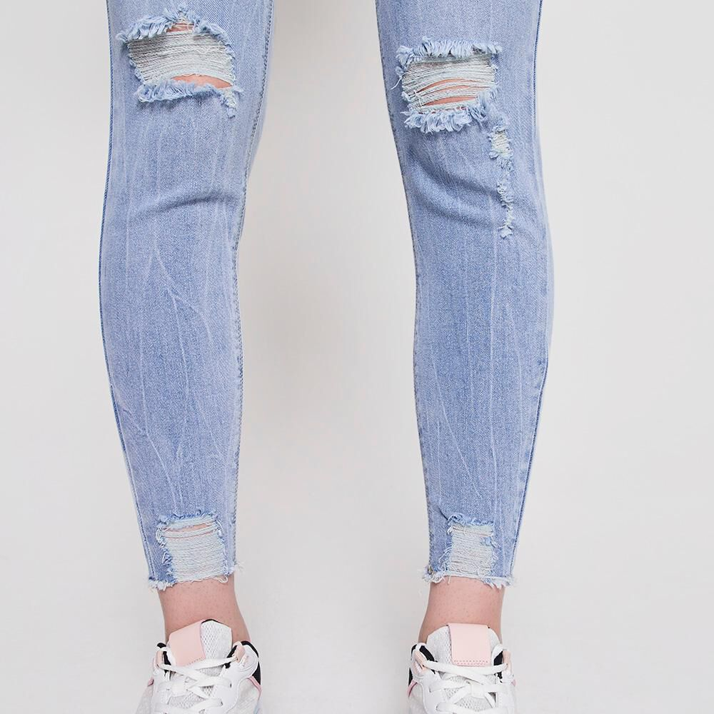 Jeans Mujer Tiro Alto Push Up Super Skinny Freedom image number 5.0
