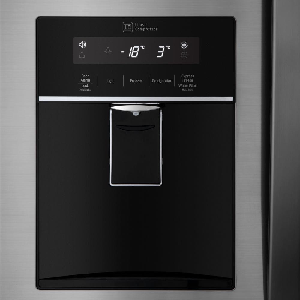 Refrigerador Side By Side Lg French Door LM22SGPK / No Frost / 533 Litros image number 6.0