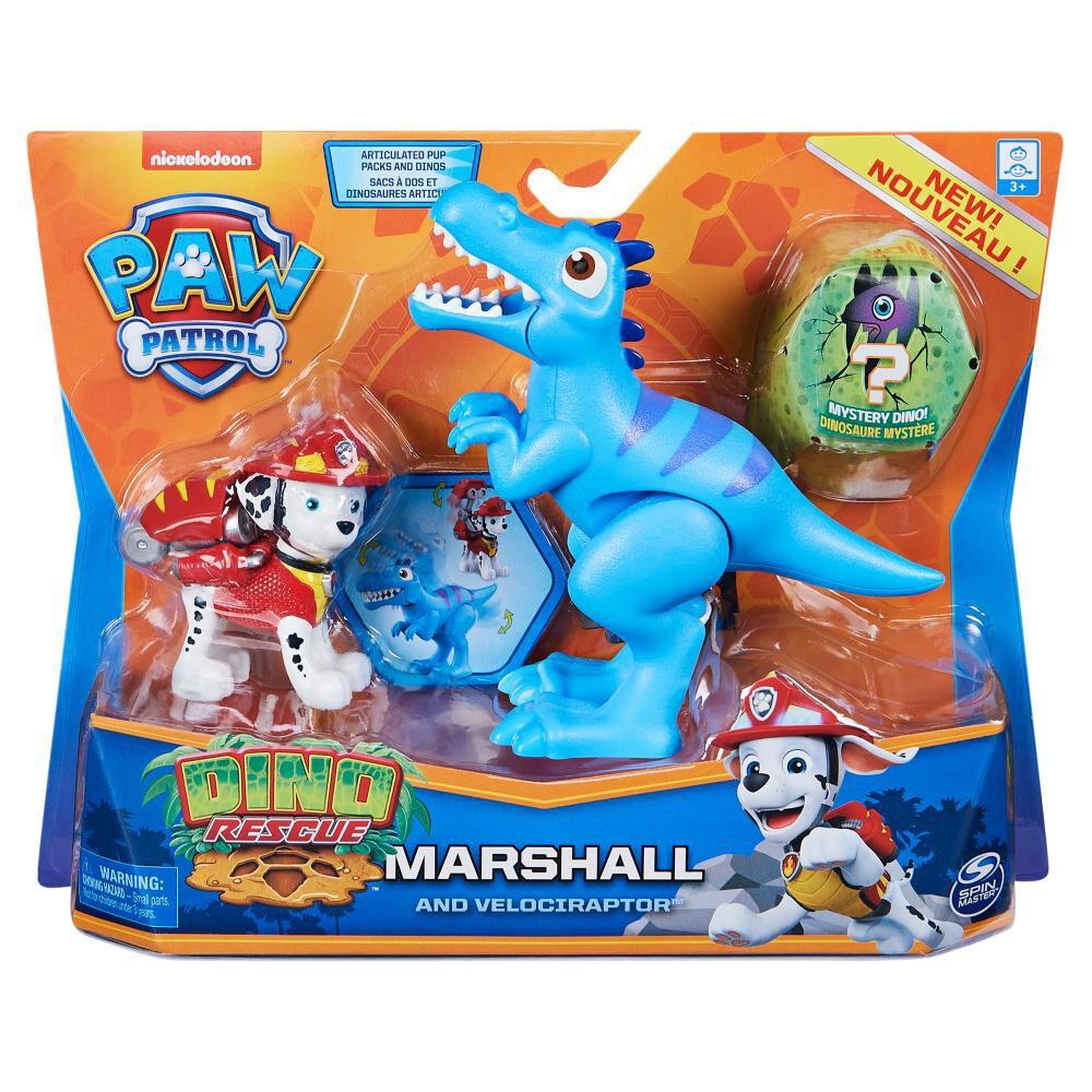 Figura Paw Patrol Marshall Dino image number 3.0