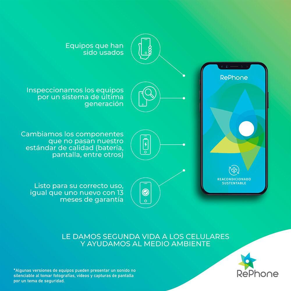 Smartphone Apple Iphone 7 Plus Reacondicionado Plata / 128 Gb / Liberado image number 2.0