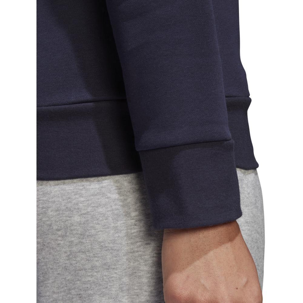 Polerón Deportivo Mujer Adidas Essentials Linear Crewneck image number 7.0