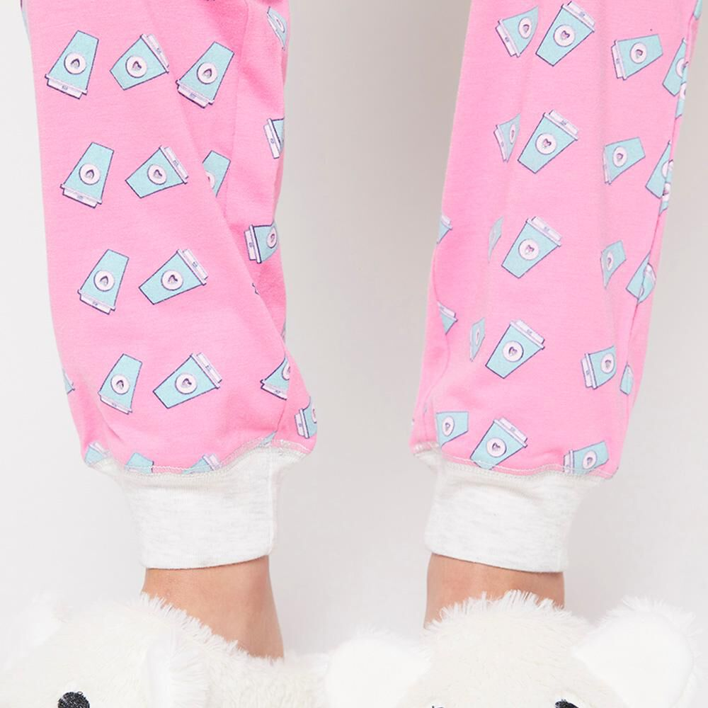Pantalón De Pijama Mujer Freedom / 1 Piezas image number 4.0