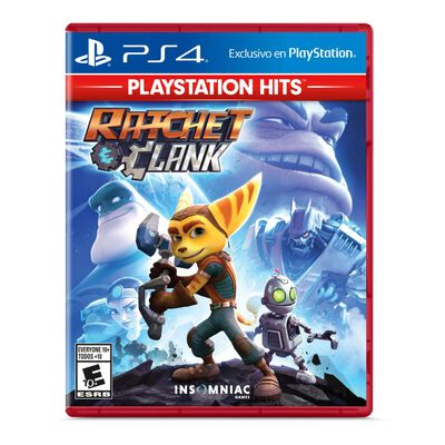 Juego Ps4 Hits Ratchet + Clank
