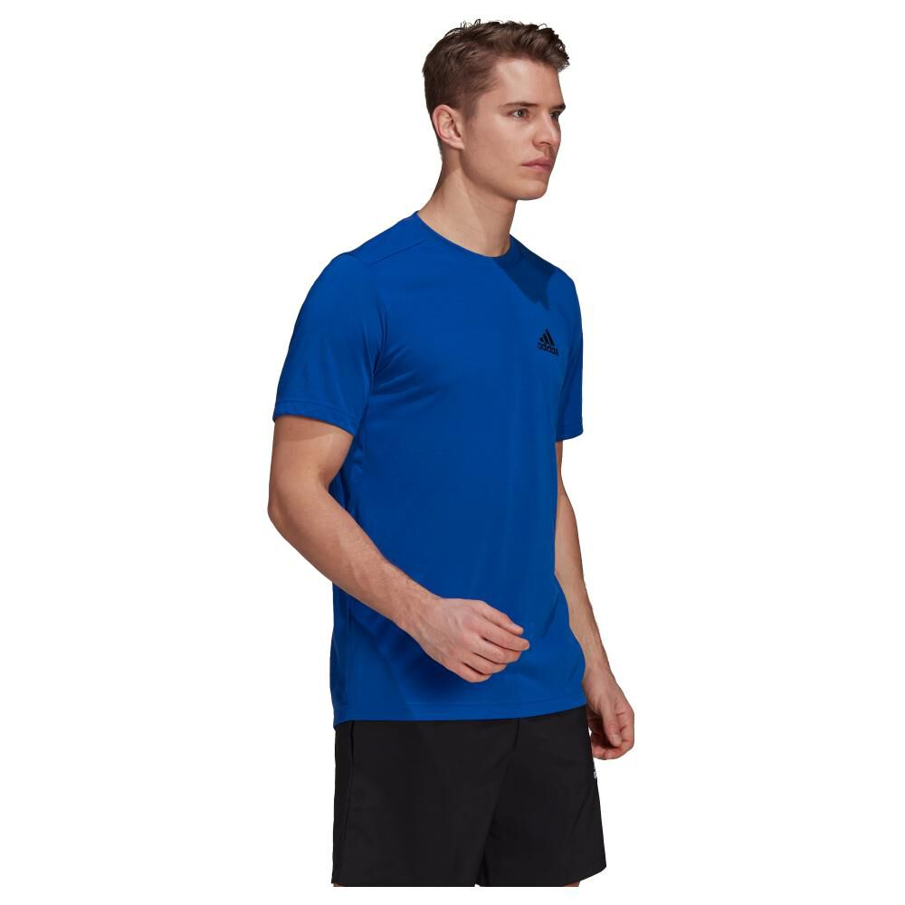 Polera Hombre Adidas D2m Feelready image number 1.0