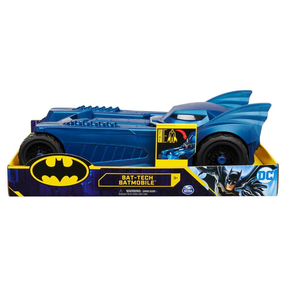 Figura De Acción Dc Batman Vehículo image number 6.0