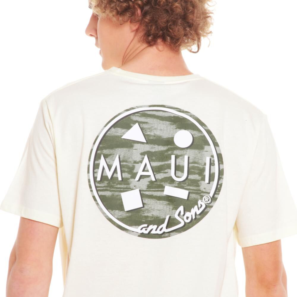 Polera Hombre Maui Blanco image number 2.0