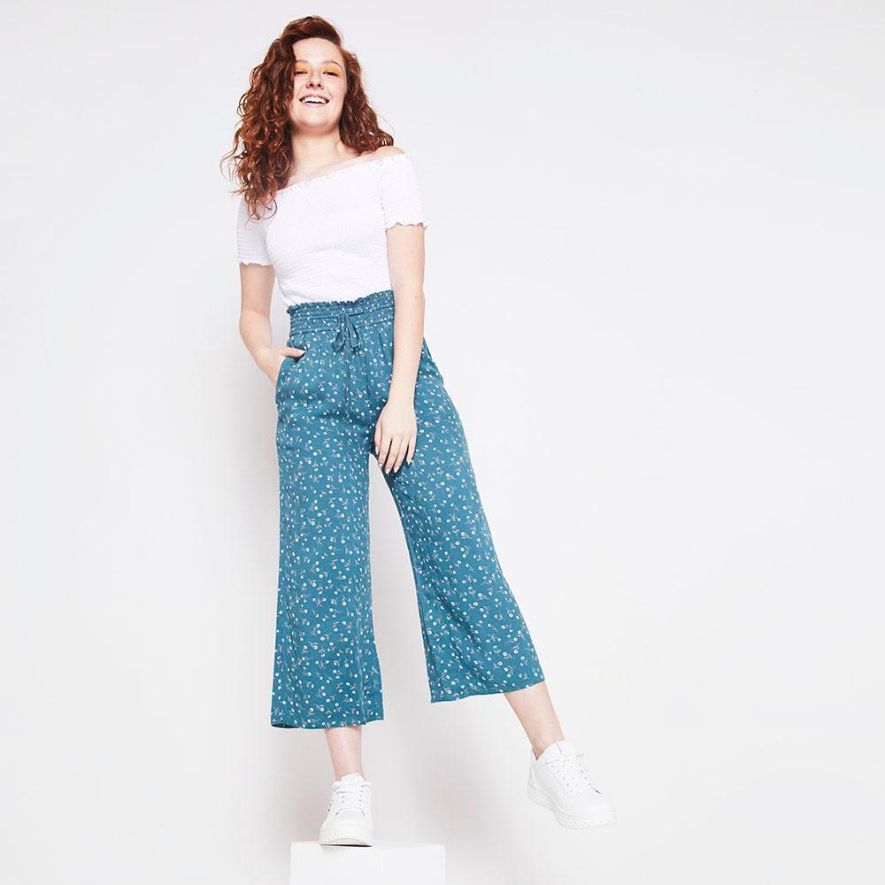 Pantalon Tiro Alto Culotte Mujer Freedom image number 1.0
