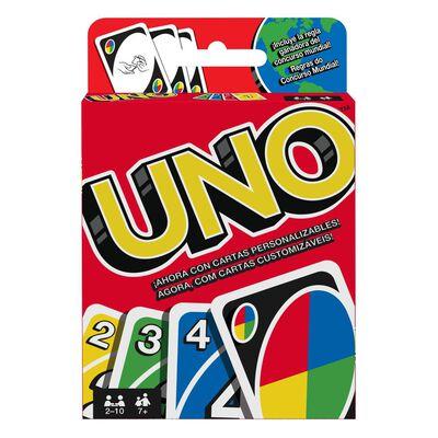 Juego De Cartas Mattel Uno