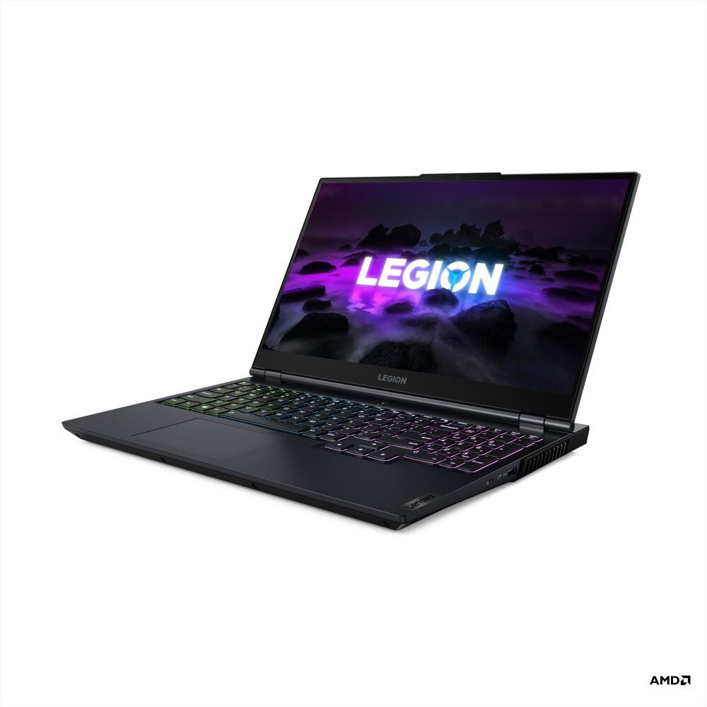 "Notebook Gamer Lenovo Legion 5 15ach6h / Azul Phantom / Amd Ryzen 5 / 8 Gb Ram / Nvidia Geforce Rtx 3060 / 512 Gb Ssd / 15.6 "" image number 2.0"