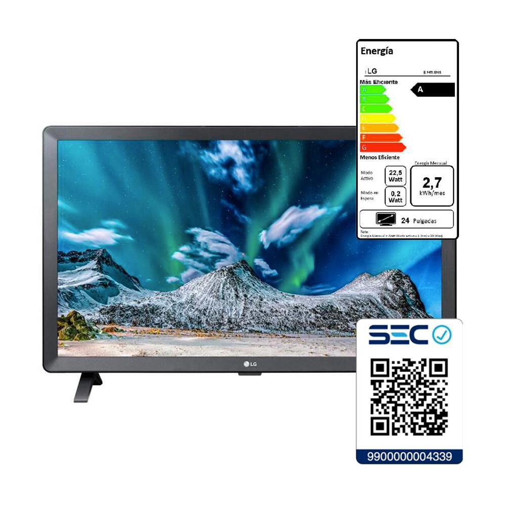 "Led LG Tl520S Ps / 23.6 "" / HD / Smart Tv image number 5.0"