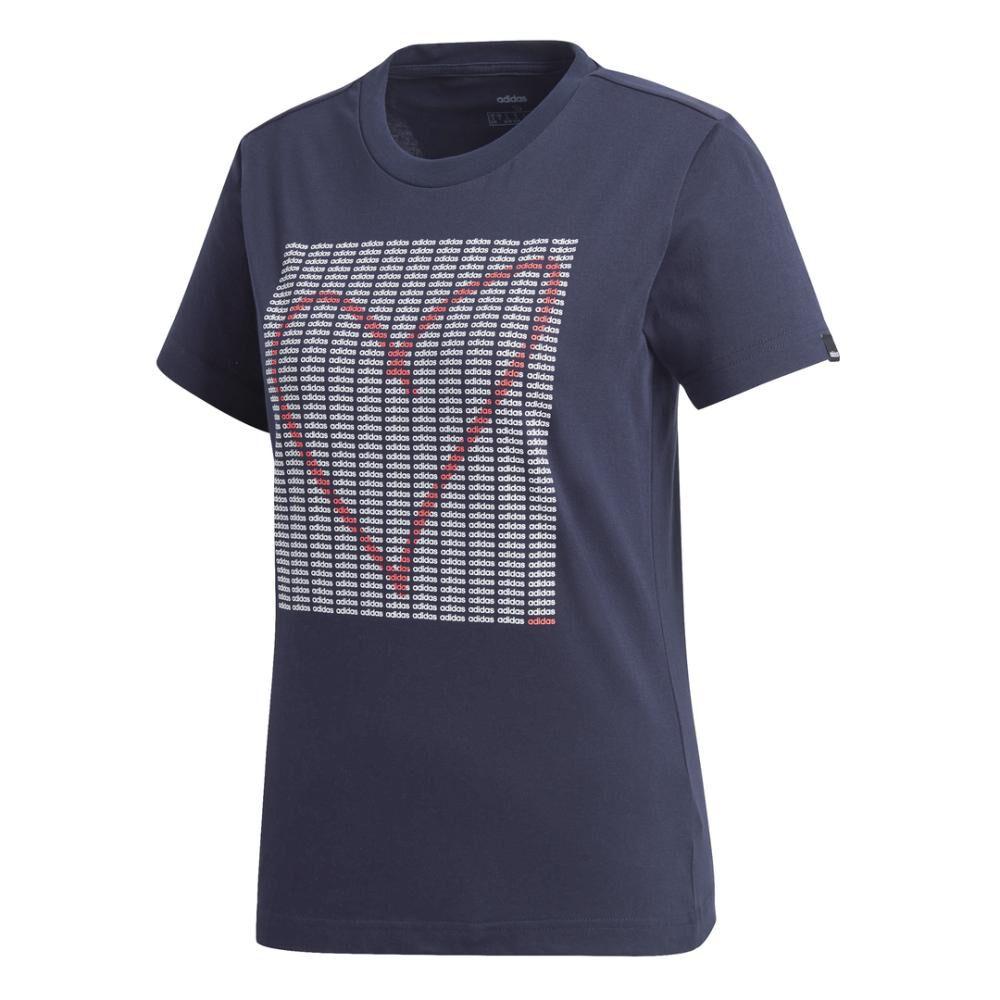 Polera Mujer Adidas Womens Adi Heart Graphic image number 7.0