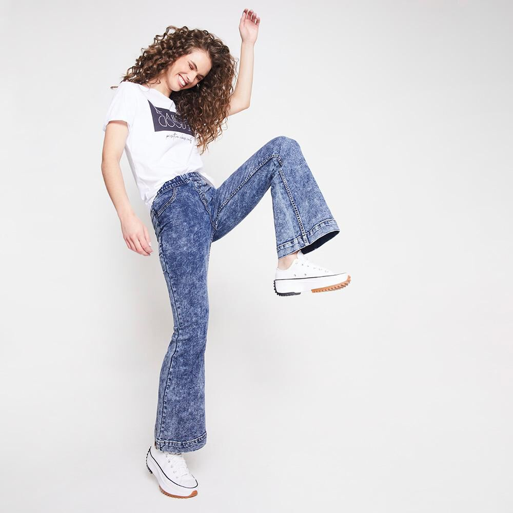 Jeans Mujer Tiro Alto Flare Freedom image number 1.0