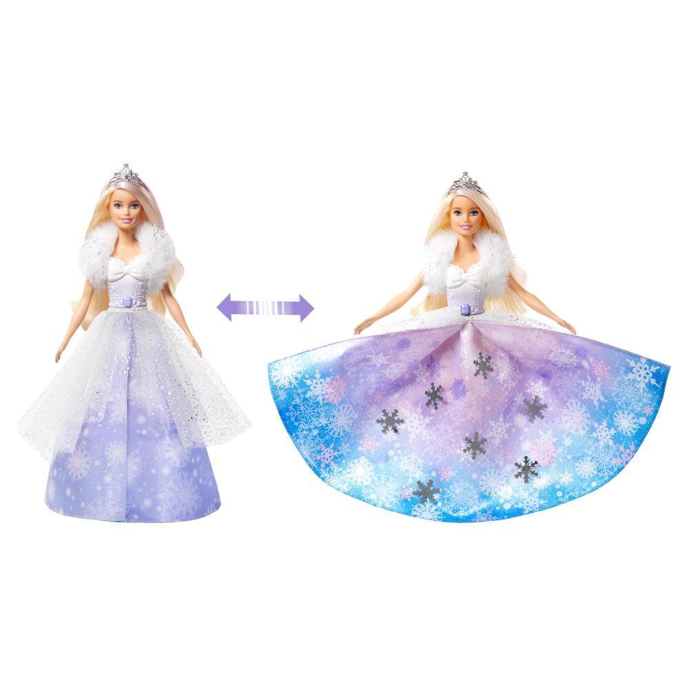 Muñeca Barbie Princesa Vestido Mágico image number 2.0