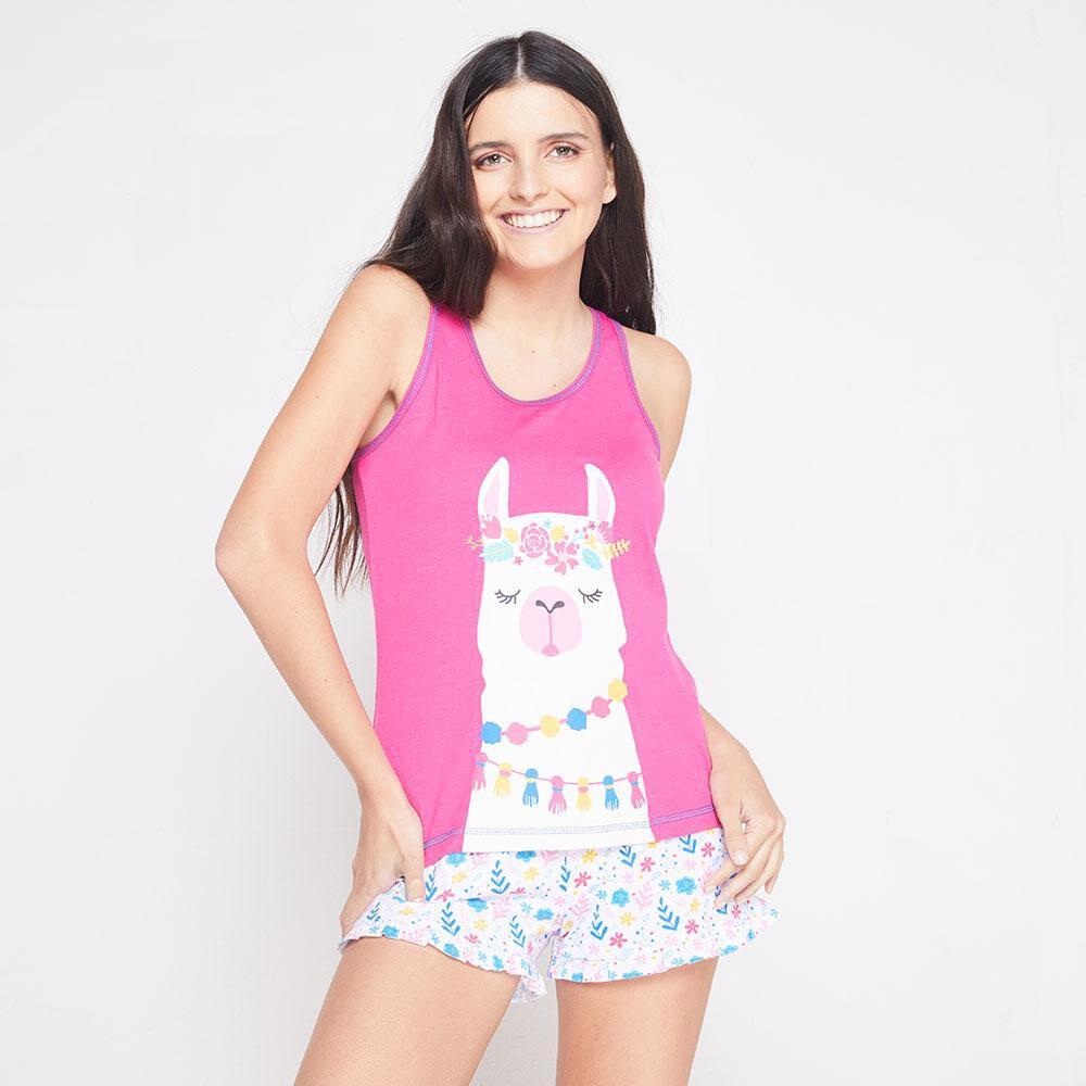 Pijama Musculosa Algodón Mujer Freedom image number 0.0