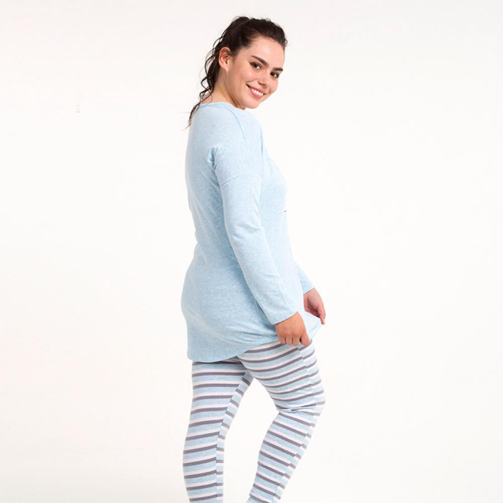Pijama Mujer Flores image number 1.0