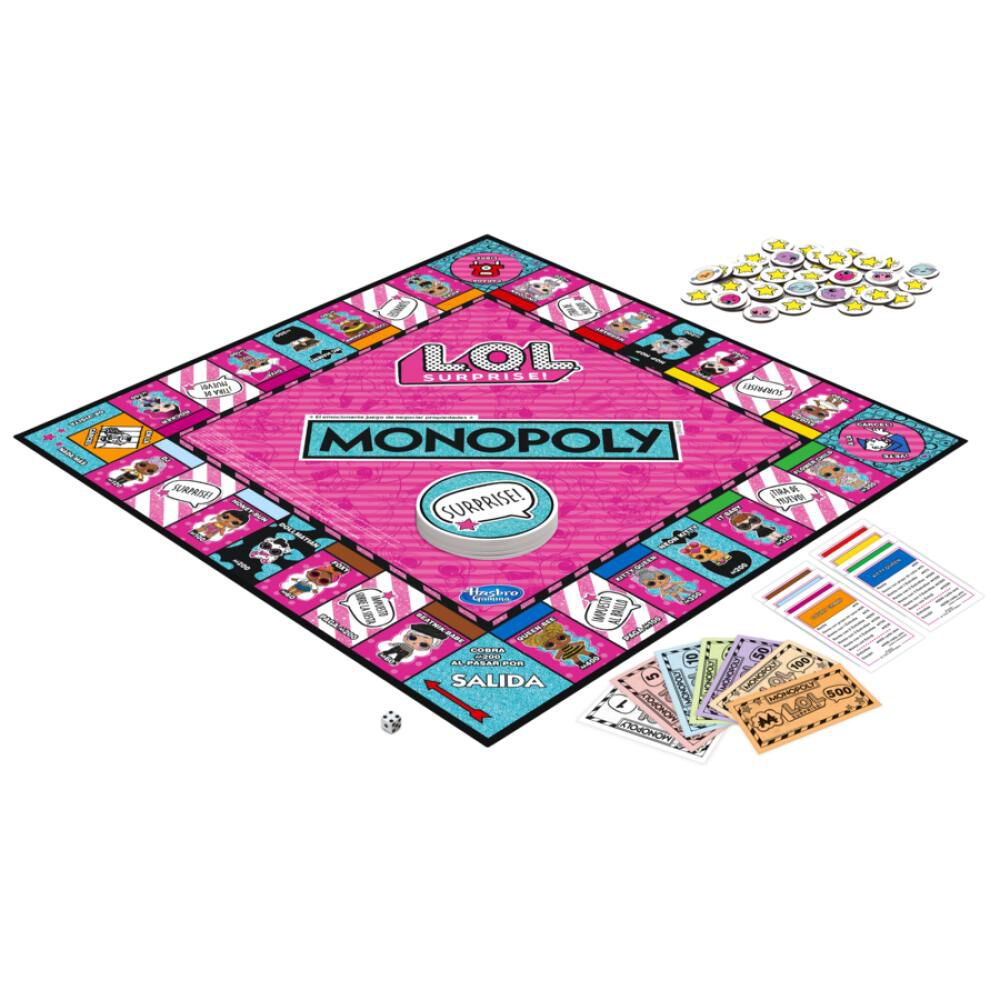 Juegos Familiares Monopoly L.o.l image number 1.0