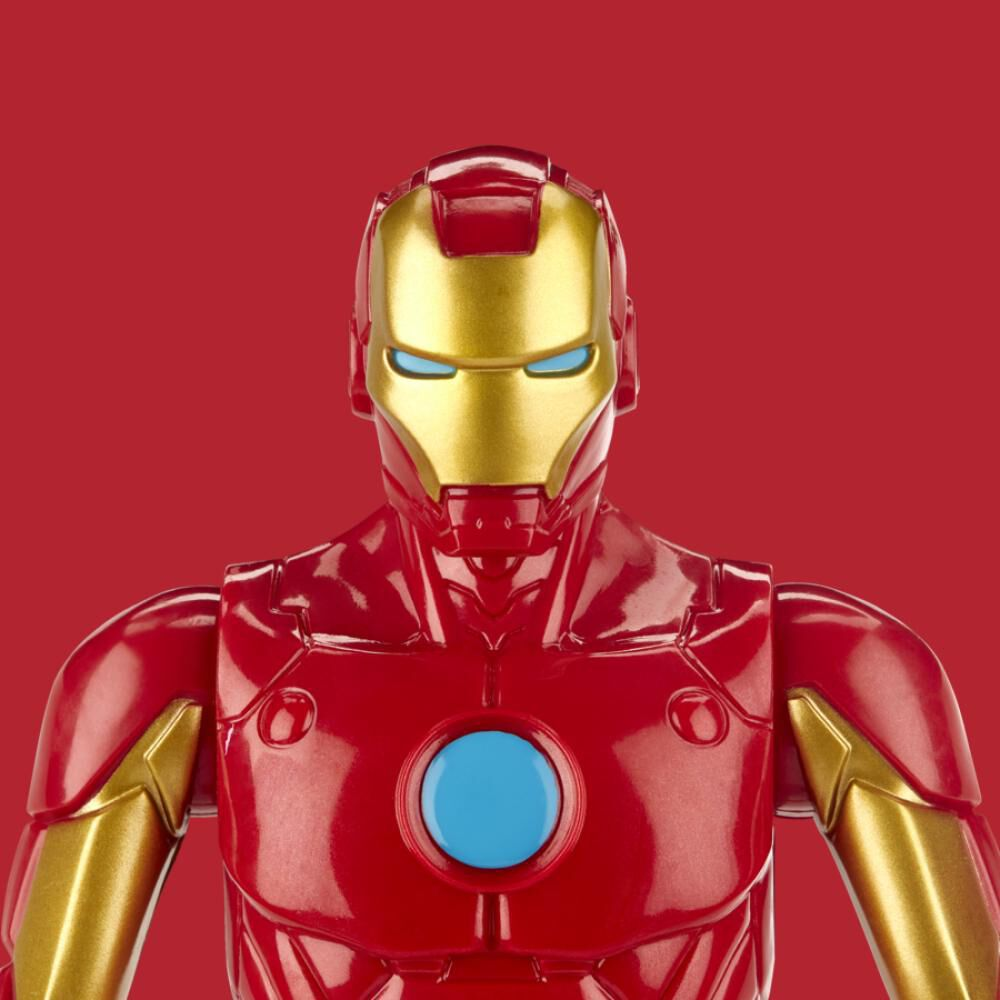 Figura De Accion Avenger Titan Hero Movie Iron Man image number 5.0