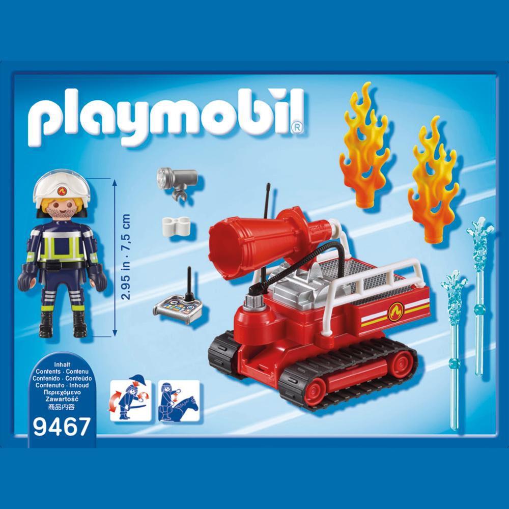 Figura De Acción Playmobil Robot De Extinción image number 1.0