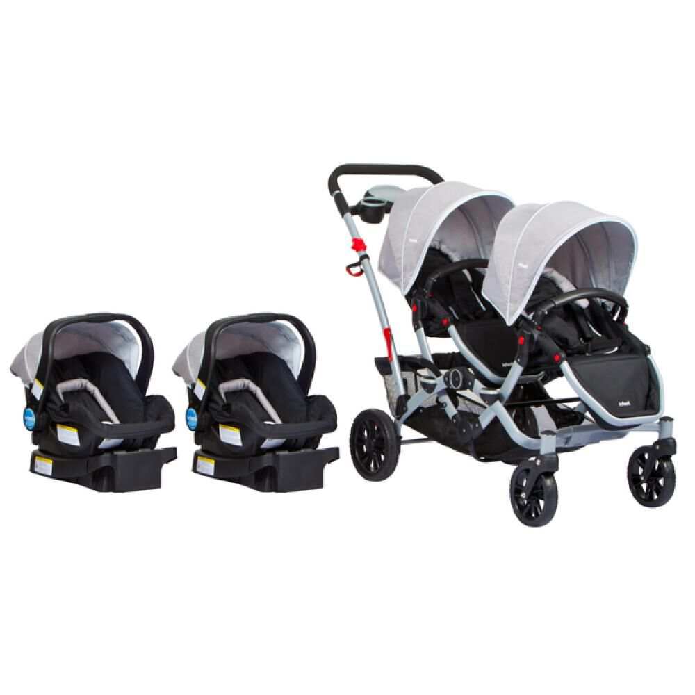 Coches Duo Ride Gery + 2 Sillas Y 2 Bases Infanti image number 0.0