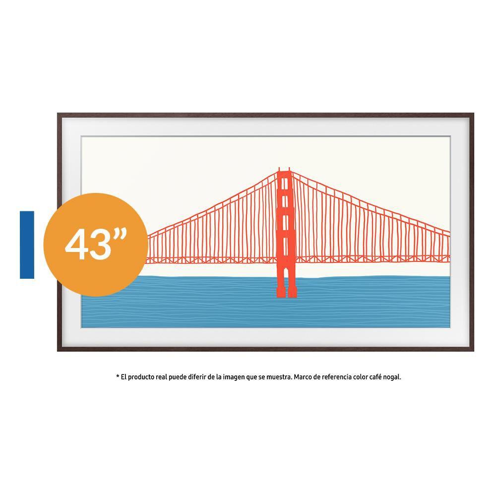 """QLED Samsung The Frame / 43 """" / Ultra HD 4K / Smart Tv 2021 image number 0.0"""