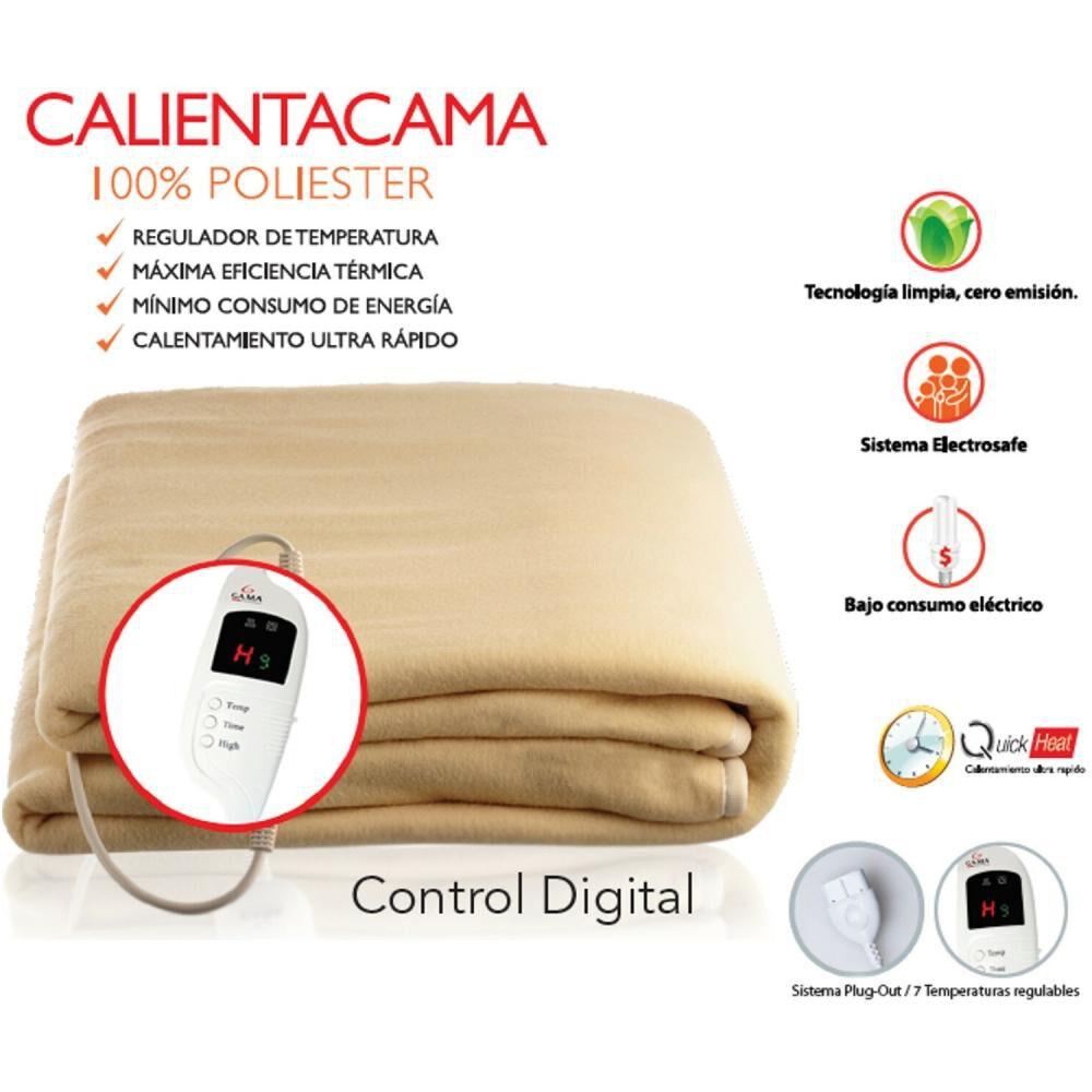 Calienta Cama Gama Doble 10 image number 2.0